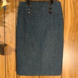 Express Design Studio Pencil Skirt High Waist